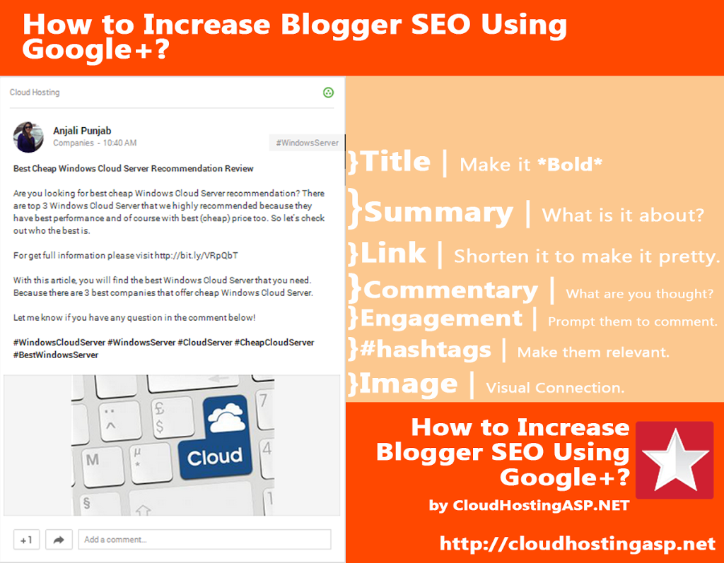 How to Increase Blogger SEO Ranking Using Google+?