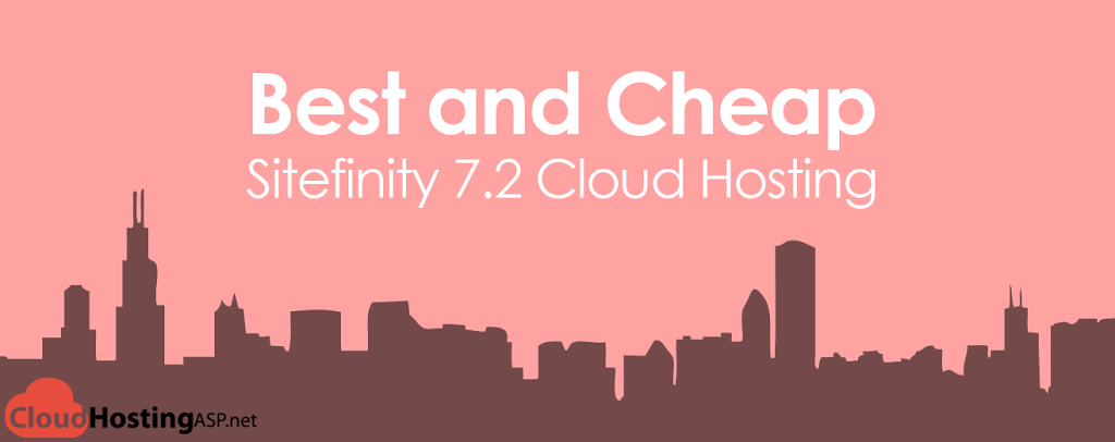 Best and Cheap Sitefinity 7.2 Cloud Hosting