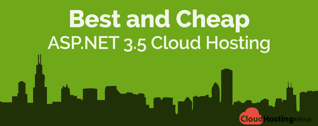 Best and Cheap ASP.NET 3.5 Cloud Hosting