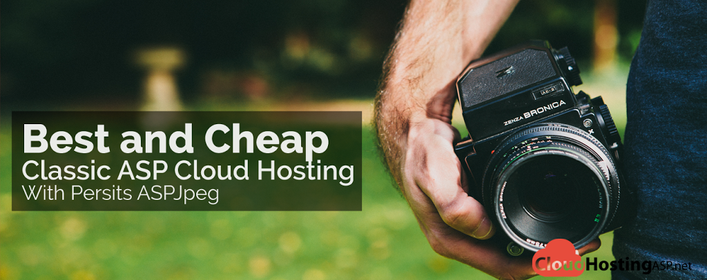 Best and Cheap Classic ASP Cloud Hosting With Persits ASPJpeg