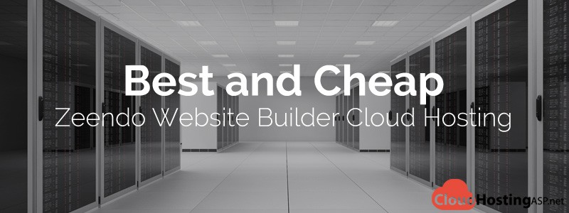 Best and Cheap Zeendo Website Builder Cloud Hosting