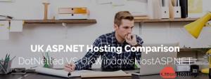 UK ASP.NET Hosting Comparison - DotNetted VS UKWindowsHostASP.NET