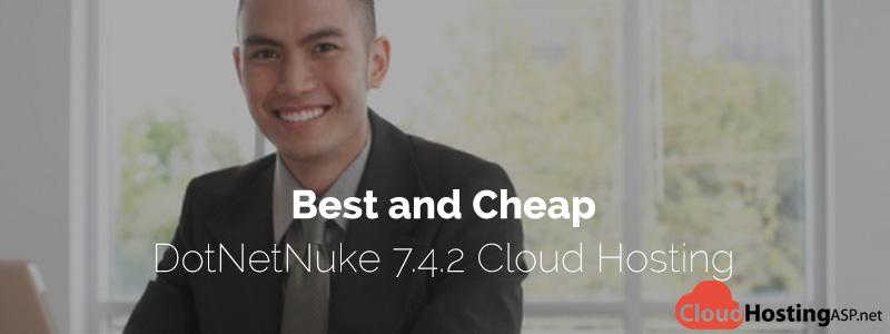 Best and Cheap DotNetNuke 7.4.2 Cloud Hosting