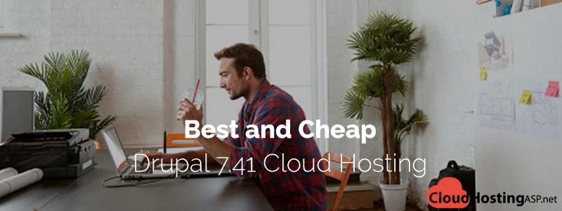 Best and Cheap Drupal 7.41 Cloud Hosting
