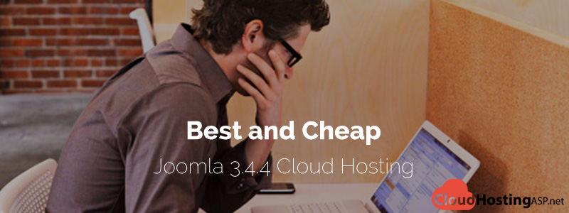 Best and Cheap Joomla 3.4.4 Cloud Hosting