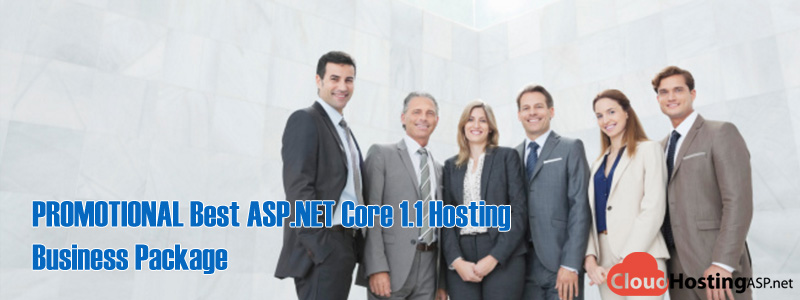 PROMOTIONAL Best ASP.NET Core 1.1 Hosting - Business Package