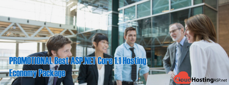 PROMOTIONAL Best ASP.NET Core 1.1 Hosting - Economy Package