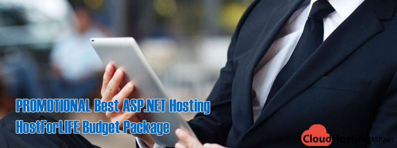 PROMOTIONAL Best ASP.NET Hosting - HostForLIFE Budget Package