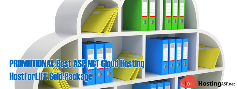 PROMOTIONAL Best ASP.NET Cloud Hosting - HostForLIFE Gold Package