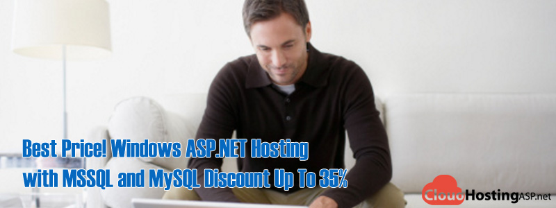 Best Price! Windows ASP.NET Hosting with MSSQL and MySQL Discount Up To 35%