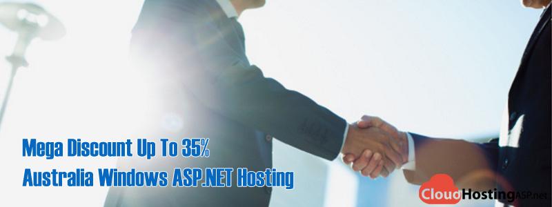 Mega Discount Up To 35% Australia Windows ASP.NET Hosting