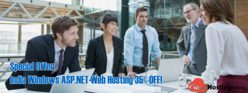 Special Offer - India Windows ASP.NET Web Hosting 35% OFF!