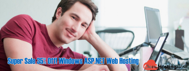 Super Sale 35% Off! Windows ASP.NET Web Hosting