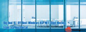Big Deal 15% Off Best Windows ASP.NET Cloud Hosting From ASPHostPortal