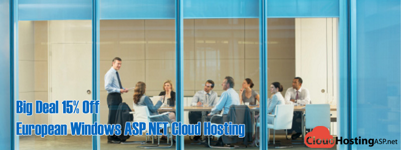 Big Deal 15% Off European Windows ASP.NET Cloud Hosting
