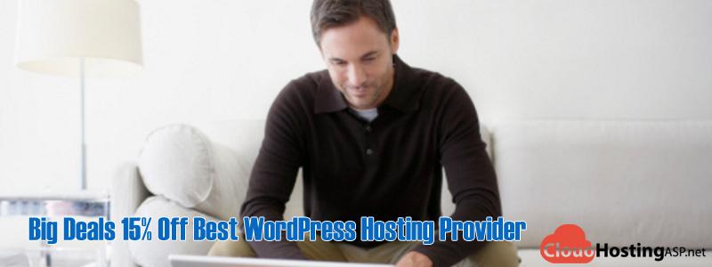 Big Deals 15% Off Best WordPress Hosting Provider
