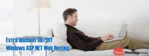 Extra Discount 35% Off Windows ASP.NET Web Hosting