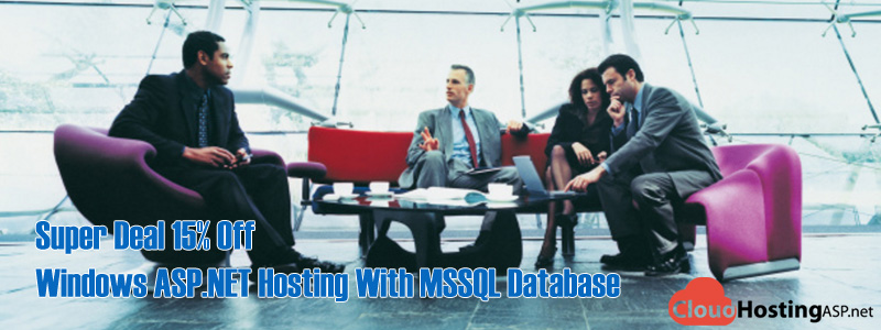Super Deal 15% Off Windows ASP.NET Hosting With MSSQL Database