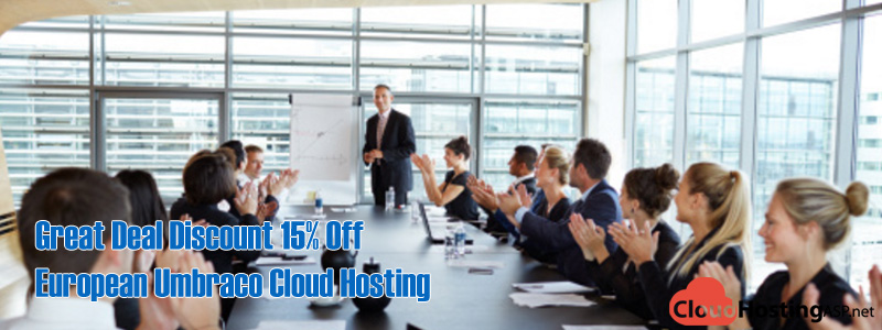 Great Deal Discount 15% Off European Umbraco Cloud Hosting