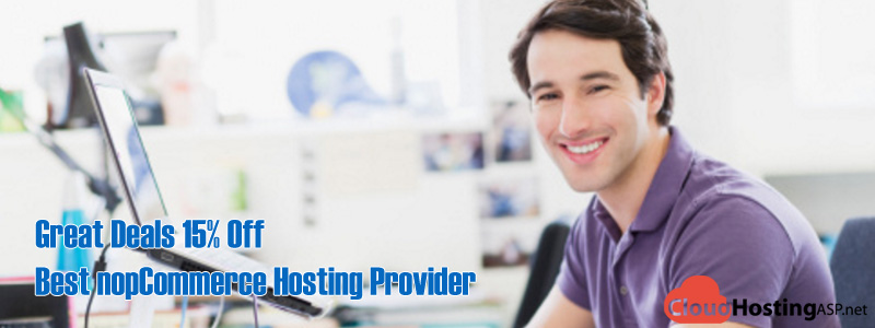 Great Deals 15% Off Best nopCommerce Hosting Provider