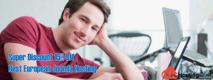 Super Discount 15% Off Best European Joomla Hosting