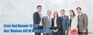 Great Deal Discount 15% Off - Best Windows ASP.NET Core 2 Hosting