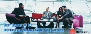 Super Discount 15% Off Best European Windows ASP.NET Core 2 Hosting