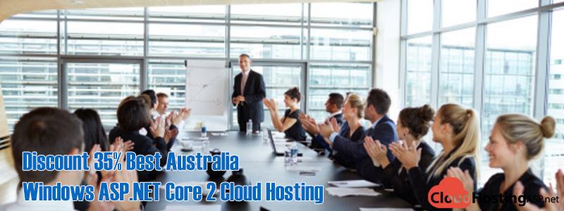 Discount 35% Best Australia Windows ASP.NET Core 2 Cloud Hosting