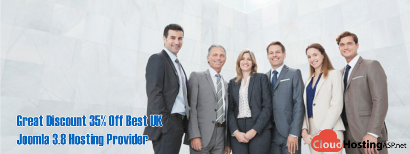 Great Discount 35% Off Best UK Joomla 3.8 Hosting Provider