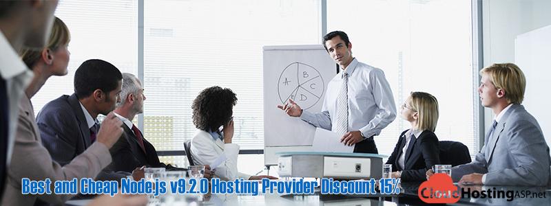 Best and Cheap Node.js v9.2.0 Hosting Provider Discount 15%