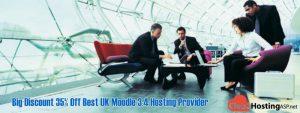 Big Discount 35% Off Best UK Moodle 3.4 Hosting Provider