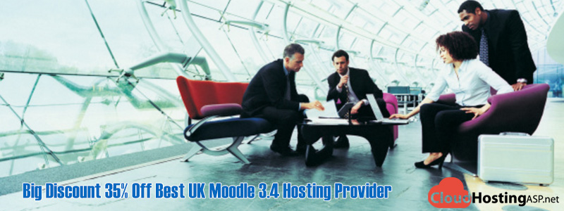 Big Discount 35% Off Best UK Moodle 3.4 Hosting Provider