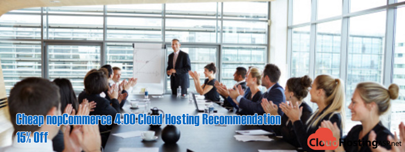 Cheap nopCommerce 4.00 Cloud Hosting Recommendation - 15% Off