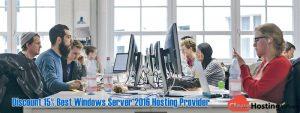 Discount 15% Best Windows Server 2016 Hosting Provider