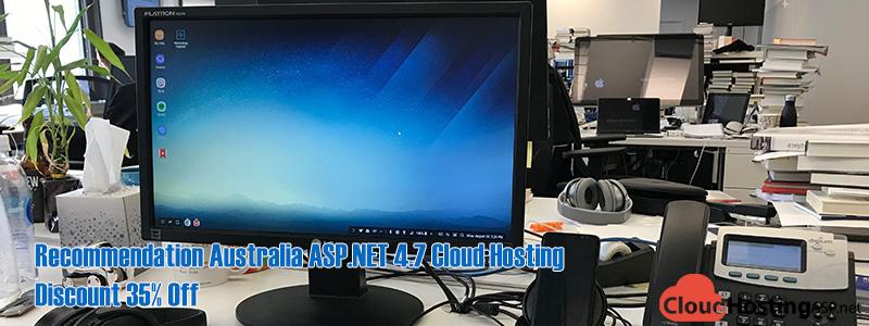 Recommendation Australia ASP.NET 4.7 Cloud Hosting – Discount 35% Off