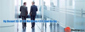 Big Discount 35% Off UK WordPress 4.9.4 Cloud Hosting