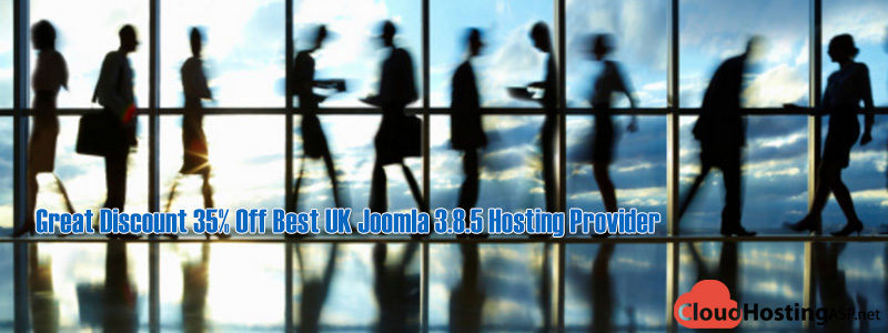 Great Discount 35% Off Best UK Joomla 3.8.5 Hosting Provider