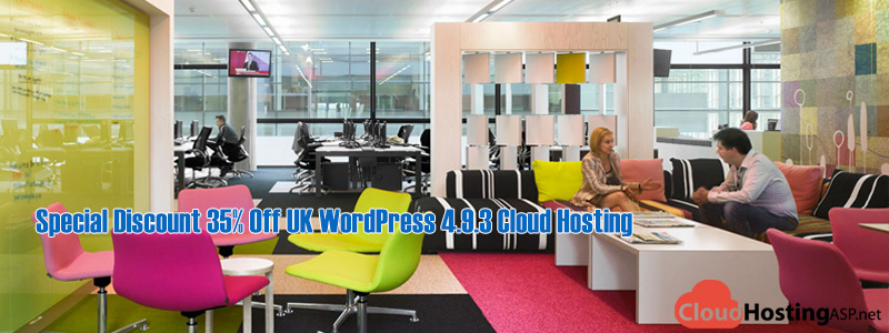 Special Discount 35% Off UK WordPress 4.9.3 Cloud Hosting