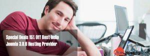 Special Deals 15% Off Best India Joomla 3.8.6 Hosting Provider