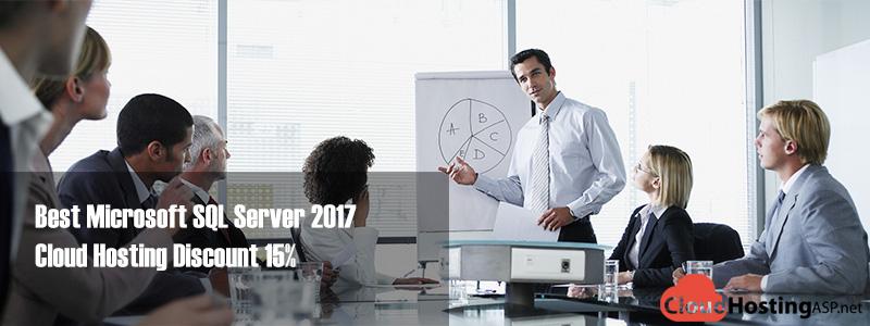 Best Microsoft SQL Server 2017 Cloud Hosting Discount 15%