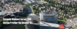 European Windows Server 2016 Hosting Provider Big Discount 15%