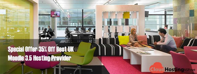 Special Offer 35% Off Best UK Moodle 3.5 Hosting Provider