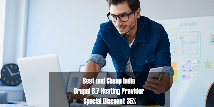 Best and Cheap India Drupal 8.7 Hosting Provider Special Discount 35%
